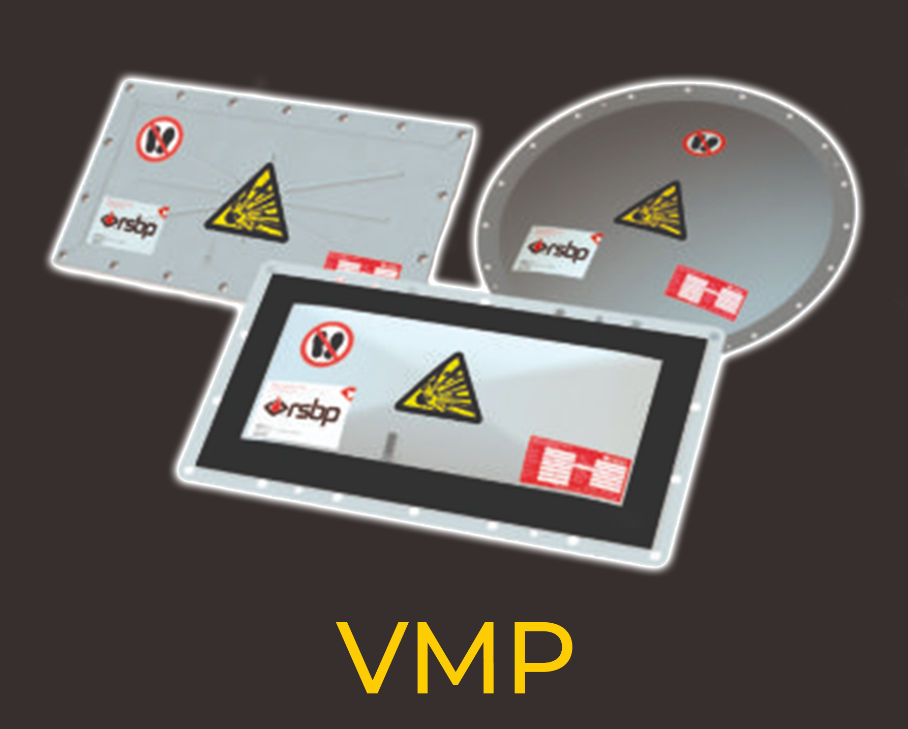 Explosion vent panels VMP from Euratex