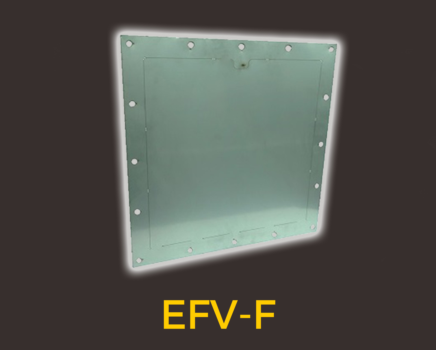 efv-f Explosion relief with Euratex