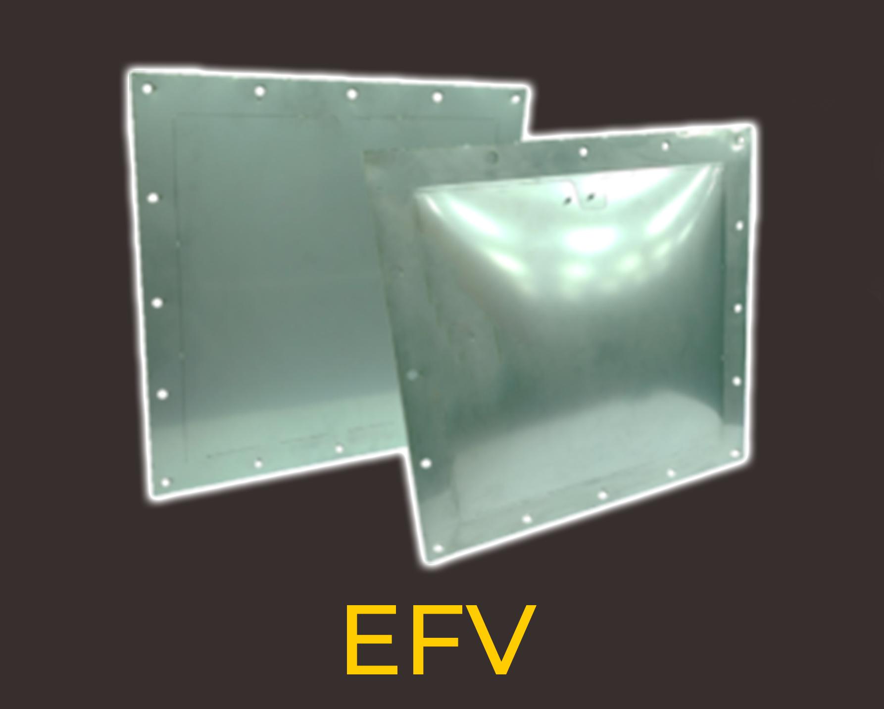 Explosion venting from Euratax EFV