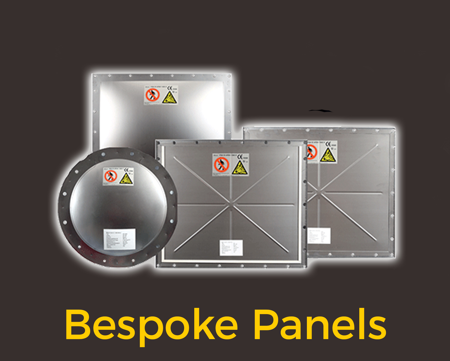 Explosion relief from Bespoke Panels from Euratex uk